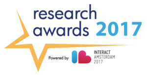 IAB Europe Interact Research awards Logo color 2017