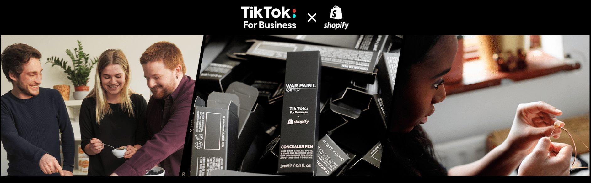 TikTok x Shopify