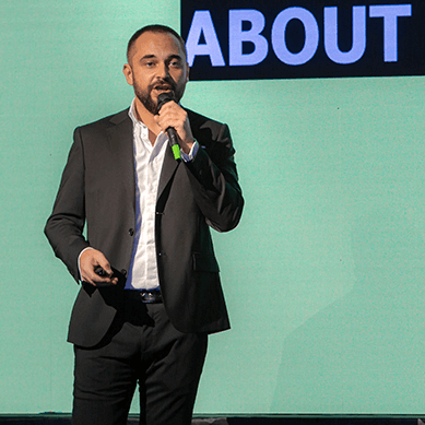 <strong>Andrei Dragu</strong></br> <span>Vice President, IAB Romania and Event Director of IAB MIXX Awards Romania</span>